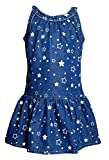 Naughty Ninos Star Printed Denim Dress for age 2 to 12 years