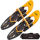SkinStar Schneeschuh 29 INCH Schneeschuhwandern Schneeschuhe bis 130 kg...