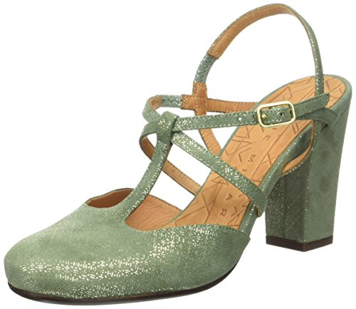 Chie Mihara Renne, con Cinturino alla Caviglia Donna, Vert (Perla Celadon), 39 EU