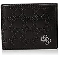 Guess Mens Wallet with Coin Holder, Black - 31GUE13163