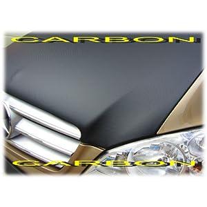 Autostyle 0649 CARBON Motorhauben Steinschlagschutz Volkswagen Amarok 2011-Karbon-Look