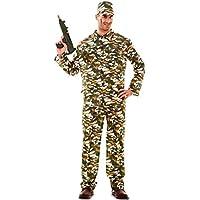 Amazon.it  costume di carnevale militare - Uomo   Adulti   Costumi ... ab1a26ae7b9f