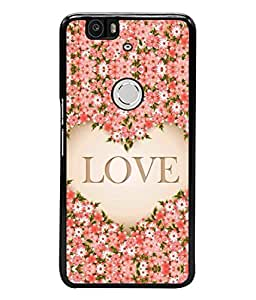 Fuson Designer Back Case Cover for Huawei Nexus 6P :: Huawei Google Nexus 6P (Loving Relation Family Friend Couple)