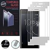 ShopInSmart® 3x Hochwertige gehärtete Panzerglasfolie für Sony Xperia XA1 Plus 5.5