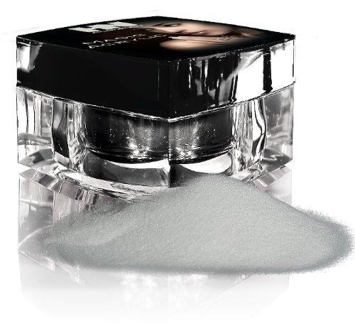 HOLLYWOOD NAILS Platin Acrylic Powder Clear 20 g, Pulver Flüssigkeit, Acryl System