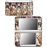 Attack on Titan Shingeki no Titan Anime Manga Video Game Vinyl Decal Skin Sticker Cover for Original Nintendo 3DS XL System by Vinyl Skin Designs