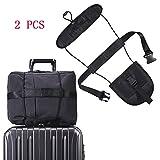 2 PCS Gepäck Bungee Reisetasche Verstellbare Add-A-Bag Gepäck-gurt für trolley Verpackungsgürtel Koffer Sicherheitsgurte Gürtel Fügen Sie einen Beutel Strap Carry On Bungee Travel Koffer- & Taschenanhänger