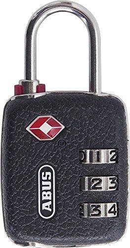 ABUS Zahlenschloss Vorhangschloss 146/30, TSA-Zertifiziert, 57017