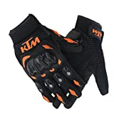 #6: AllExtreme For Ktm Gloves Orange With Black Colour XXL Size Bike Riders Gloves Motosports Gloves (M)