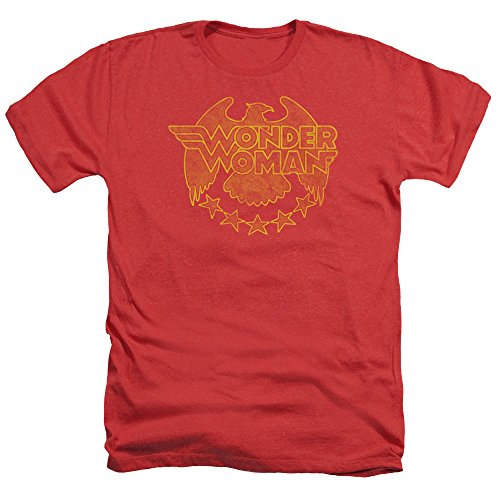 Trevco Men's Dc Wonderwoman Eagle Heather Adult T-Shirt