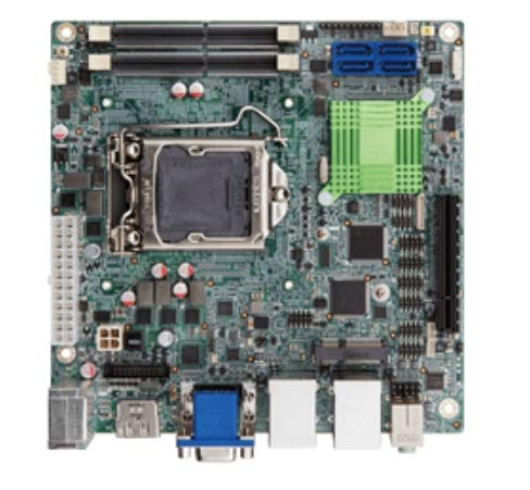 (DMC Taiwan) Mini-ITX Motherboard Supports 14nm LGA1151 Intel® Skylake CPU Intel® Q170, HDMI2.0/DP/VGA, SATA, Dual Intel®Gbe, USB3.0, PCIE Mini, HD Audio and RoHS