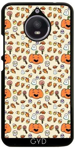 Hülle für Motorola Moto E4 Plus - Halloween Kritzelt Lustige Gesichter by AnishaCreations