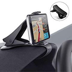 Idea Regalo - Modohe Supporto Auto Smartphone Universale Cruscotto Porta Cellulare Auto per iPhone11 Pro/11/Xs Max/Xs/Xr/X/8/7/6s Plus, Galaxy S10 Note 10+ Huawei Mate 30 PRO Xiaomi etc.