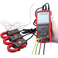 Tres fases de Digital de fases de Voltios De Amperio Medidor de alicate Medir Voltaje de cambio y CA etcr4700