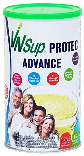 VNSup - Protec Advance - Suplemento Alimentario Batido de Proteínas Lácteas con Vitaminas Minerales Probioticos Glutamina y Aceite MCT