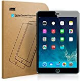 [Scratch Terminator] Anker Tempered-Glass Screen Protector for iPad Mini / iPad Mini 2 / iPad Mini 3 / New iPad Mini with Retina display - Premium Crystal Clear  (Not compatible with iPad Mini 4)