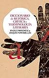 Diccionario de retórica, crítica y terminología literaria (Ariel Letras)
