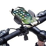 Fahrrad Handyhalterung,Degbit Universal Fahrradhalterung mit Silikonhalterung,Stabile Handy...