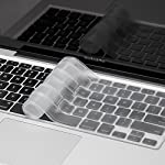 It is made of premium high quality silicone rubber material. Simple installation, stays on keyboard directly without paste or cut unlike the universal keyboard which falls out every time. Maintains natural typing feel, soft on fingers. Removable and ...