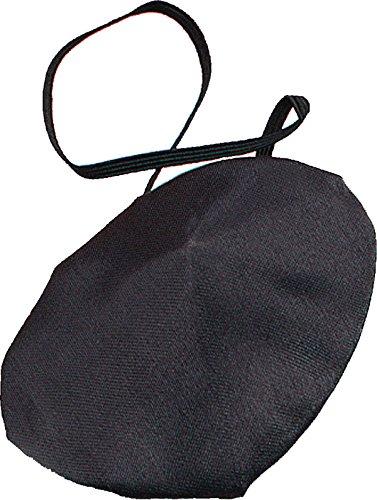Adulti Pirati travestimento accessori Fake Benda in plastica o tessuto UK Silk Fabric Taglia unica