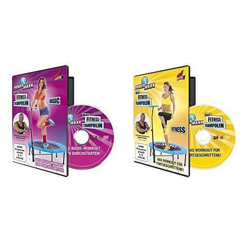 TV unser Original Trainings DVD Power Maxx Fitness Trampolin Basic, 00171 & TV unser Original Trainings DVD Power Maxx Trampolin Fitness, 00172