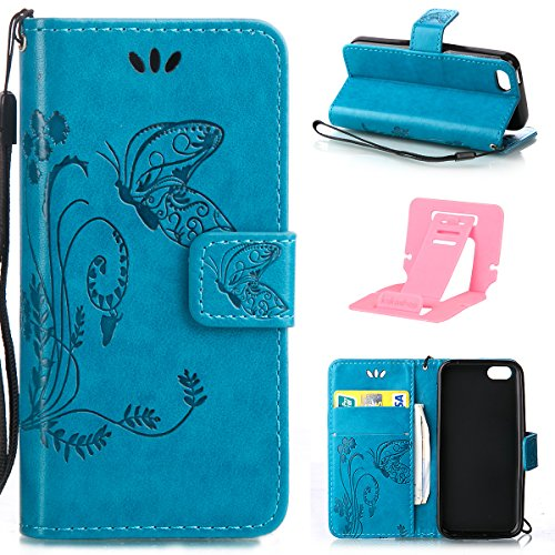 iphone 5C Custodia, Ekakashop Lusso Diamante Design Flip Folio PU Leather Book Wallet Custodia Tasca Chiusura Magnetica Stile del libro del Protettiva in Pelle Stand Cassa Case Cover per Apple iphone  C#7