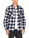 Lee Herren Langarmshirt Rider Shirt, Mehrfarbig (Jet Stream CWBC), X-Large