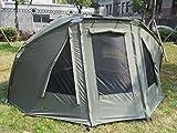 Quest Compact MK1 Carp Fishing 3 Rib 1-2 Man Bivvy, Day Shelter, Tent