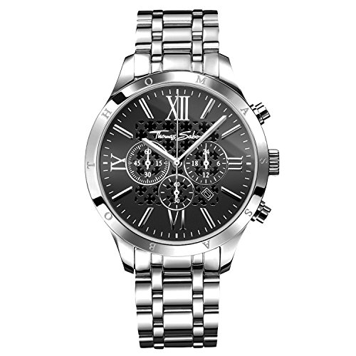 Thomas Sabo, Montre Homme WA0015-201-203-43 mm