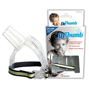 Dr.Thumb for Thumb Sucking Prevention and Treatment, Large, 3-7 years (Multicolour, -2583)