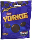 Nestle Yorkie Man Size Buttons, 110 g (Pack of 8)