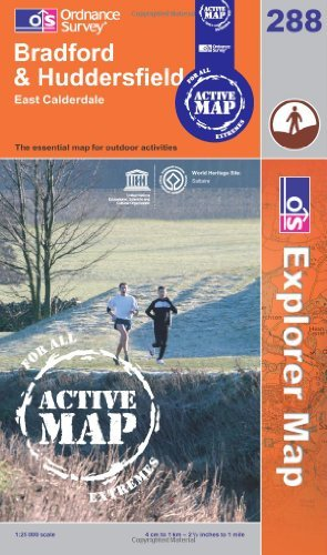 Bradford and Huddersfield (OS Explorer Map Active) by Ordnance Survey (2006-03-13)