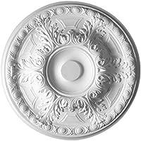 HOMESTAR Stuckrosette / Deckenrosette Prisca, Durchmesser 50 cm, 25217