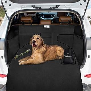 Focuspet Hundedecke Kofferraum, 185 * 105 * 45CM Hundedecke Auto Kofferraumschutz Wasserdicht und Kratzfest Autoschondecken für Hunde Kofferraumdecke Auto Schondecke