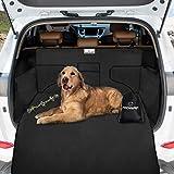 Focuspet Tappeto Auto per Cani, 185 x 105 x 36CM Copertura Universale per Bagagliaio Protezione Portabagagli Copri Baule Auto per Cani Tappetino Protezione Tappeto Auto