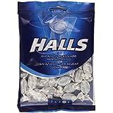 Halls - Eucalipto mentolado - Caramelo duro refrescante - 100 g