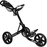 Clicgear 3,5 + 3-Wheel carrito de Golf empuje negro