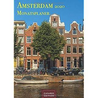 Amsterdam Monatsplaner 2020 30x42cm