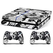 Skin PS4 CAMOUFLAGE MIMETICA SNOW - limited edition DECAL COVER ADHESIVO playstation 4 SONY BUNDLE