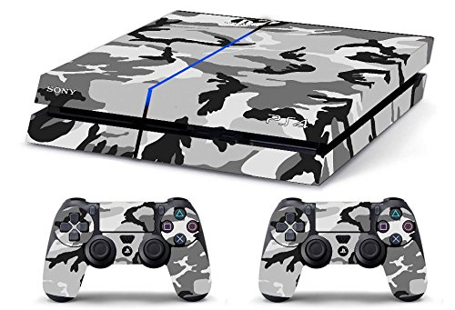 Skin PS4 CAMOUFLAGE MIMETICA SNOW limited edition DECAL COVER ADESIVA