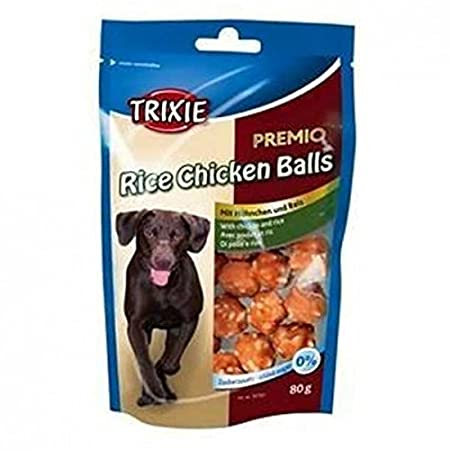 TX-31701 PREMIO Rice Chicken Balls 80 g, 8 X 80g