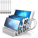Best Stations de recharge - JZBRAIN Station de Charge 6 USB Chargeur Multi Review
