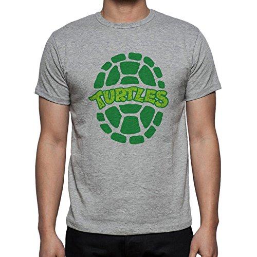 Teenage Mutant Ninja Turtles Edition Chill Green Herren T-Shirt Grau