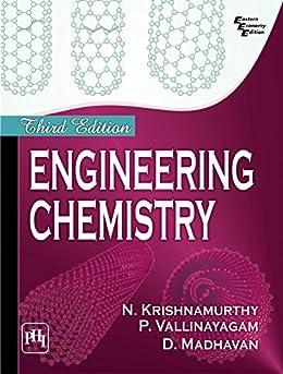 ENGINEERING CHEMISTRY by [KRISHNAMURTHY, N., VALLINAYAGAM, P., MADHAVAN, D.]