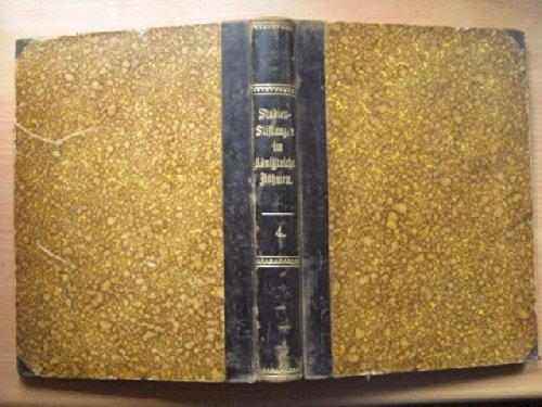 IV Band 1800-1826 v.1896 Studijni Nadani V Kralovstvi Ceskem. VI. Svazek