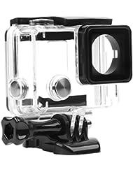 D & F Coque Boîtier Support côté ouvert avec objectif cadre transparent étui de protection Boîte pour GoPro Hero 43+ Caméra d'action