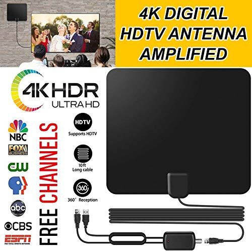 Antenne TV-Digital HD Innen 80Miles, 30dB Digital-8 Vhf-antenne