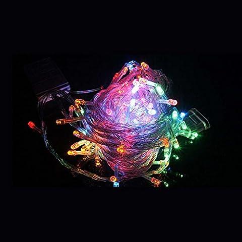 HUAYANG 2M Weihnachtshochzeits Feiertags Partei Ornaments LED Batterieleistung String Lampe Licht(multi Farben)