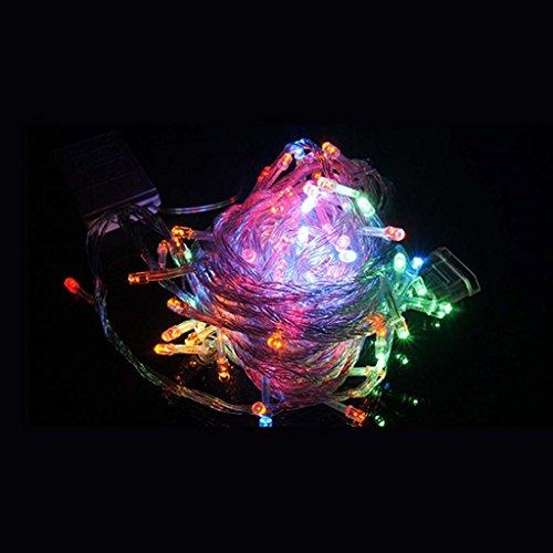 HUAYANG 2M Weihnachtshochzeits Feiertags Partei Ornaments LED Batterieleistung String Lampe Licht(multi Farben) (Multi-string-licht)