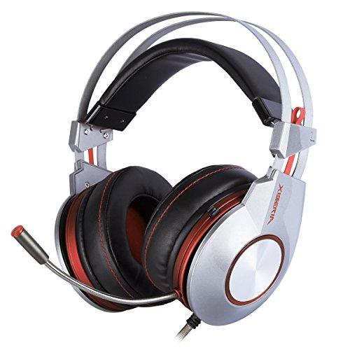 Preisvergleich Produktbild XIBERIA K5 Gaming Headset Freier Surround-Sound mit Hochempfindlichem Omnidirektional Kondensator Mikrofon